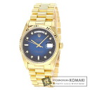 Authentic ROLEX Day-Date 18238A Watch 18K Yellow Gold  Mechanical Automatic Men