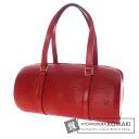 Authentic LOUIS VUITTON  Soufflot M5222E Handbag Epi Leather