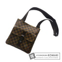 Authentic LOUIS VUITTON  Meruvu~iru N51127 Long Shoulder Shoulder bag Damier Canvas