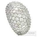 3.01ct Diamond Pave Ring PlatinumPT900  25.1