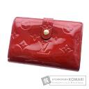 Authentic LOUIS VUITTON  Porutofoiyu Vu~ienowa M93528 (With coin purse) bi-fold wallet Vernis