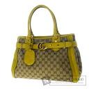 Authentic GUCCI  GG Handbag Canvas