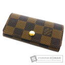 "Authentic LOUIS VUITTON  Multicles4 N62631 "" Key case Damier Canvas"