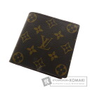 Authentic LOUIS VUITTON  Portefeiulle · Marco M61675 (With coin purse) bi-fold wallet Monogram canvas
