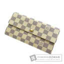 Authentic LOUIS VUITTON  N61735 06 new Portefeiulle Sarah (With coin purse) Purse Damier Canvas