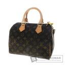 Authentic LOUIS VUITTON  Speedy band Villiers 25 M40390 Handbag Monogram canvas