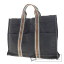 Authentic HERMES  Sac Fourre Tout MM Ginza limited model Tote bag Canvas