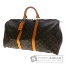 Authentic LOUIS VUITTON  Keepall 50 M41416 Boston bag Monogram canvas