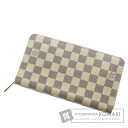 Authentic LOUIS VUITTON  Zippy Organizer N60012 (With coin purse) Purse Damier Canvas