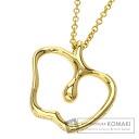 Authentic TIFFANY&Co.  Elsa Peretti Apple Necklace 18K Yellow Gold
