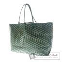 Authentic GOYARD  Saint Louis herringbone pattern Tote bag PVC