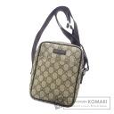 Authentic GUCCI  Diagonal multiplication GGpattern Shoulder bag PVC