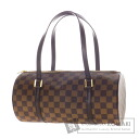 Authentic LOUIS VUITTON  Damier Papillon N51303 Handbag Damier Canvas