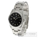 Authentic ROLEX Oyster Perpetual Explorer 14270 Overhauled Watch stainless steel  Self-winding Men