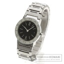 Authentic BVLGARI BB26Stainless SteelD Watch stainless steel  Quartz Ladies