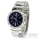 Authentic BVLGARI BB38SSD Watch stainless steel  Mechanical Automatic Men
