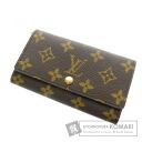 Authentic LOUIS VUITTON  Porte Tresor · Etui papier M61202 (With coin purse) bi-fold wallet Monogram canvas