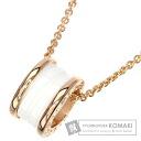 Authentic BVLGARI  B-zero1 Necklace 18K pink gold Ceramic