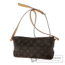 Authentic LOUIS VUITTON  Trotteur M51240 Shoulder bag Monogram canvas