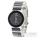 Authentic TECHNOS TBM674 Watch stainless steel Ceramic Quartz Men