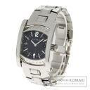 Authentic BVLGARI Assioma AA39C14Stainless SteelD Watch stainless steel  Quartz Ladies
