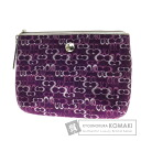 Authentic COACH  Clutch purse signature Cosmetics Pouch Canvas