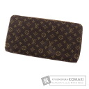 Authentic LOUIS VUITTON  Zippy Wallet M95235 (With coin purse) Purse Monogram Mini orchid canvas