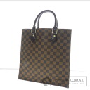 Authentic LOUIS VUITTON  Sac PlatPM N41226 Handbag Damier Canvas