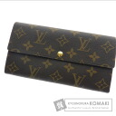 Authentic LOUIS VUITTON  M61734 06 new Portefeiulle · Sara (With coin purse) Purse Monogram canvas
