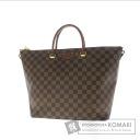 Authentic LOUIS VUITTON  Belmont N63169 Handbag Damier Canvas