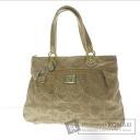Authentic COACH  17 390 Poppy Shoulder bag Canvas