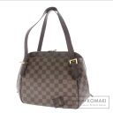 Authentic LOUIS VUITTON  Belem MM N51174 Shoulder bag Damier Canvas