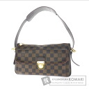 Authentic LOUIS VUITTON  Ravu~ero GM N60006 Shoulder bag Damier Canvas