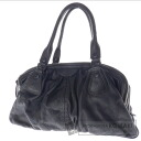 Authentic Cole Haan  Stitch style design multi-storage Shoulder bag Leather
