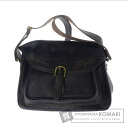 Authentic KENZO  with logo Shoulder bag Leather