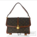 Authentic LOUIS VUITTON  Sac mule M92050 Shoulder bag Monogram canvas