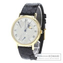 Authentic Breguet Classic 3861 Overhauled Watch stainless steel Leather Self-winding Men