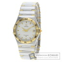 Authentic OMEGA Constellation Watch stainless steel 18K Yellow Gold Quartz Men