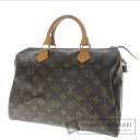 Authentic LOUIS VUITTON  Speedy 30 M41527 Handbag Monogram canvas