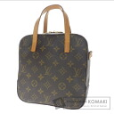 Authentic LOUIS VUITTON  Spontini M47500 Handbag Monogram canvas