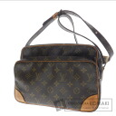 Authentic LOUIS VUITTON  Nile M45244 Shoulder bag Monogram canvas