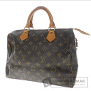 Authentic LOUIS VUITTON  Speedy 30 M41526 Handbag Monogram canvas