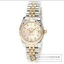 Authentic ROLEX Oyster Perpetual Datejust 179171G Watch stainless steel   Ladies