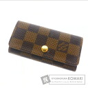 Authentic LOUIS VUITTON  Myurutikure 4 N62631 Key case Damier Canvas