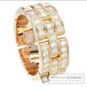 Authentic CARTIER  PANTHERE ring Ring 18K pink gold