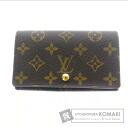 Authentic LOUIS VUITTON  Porutomone-Bietorezo Le M61730 (With coin purse) bi-fold wallet Monogram canvas