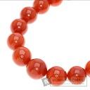 Coral Diamond Necklace K14YG  69.3