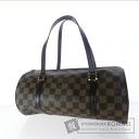 Authentic LOUIS VUITTON  Damier Papillon N51303 Handbag Damier Canvas