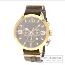Authentic ARMANI EXCHANGE 20 anniversary model Watch SS Canvas  Men