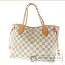 Authentic LOUIS VUITTON  NeverfullPM N51110 Tote bag Damier Canvas